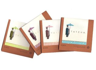 Tatcha oil blotting papers